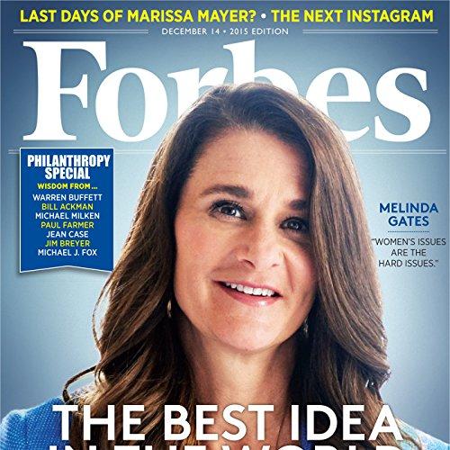 Forbes, December 14, 2015 cover art