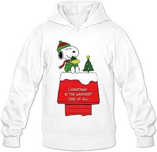 Men's Peanut Cartoon Merry Christmas Snoopy Hoodie