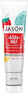 Jason Natural Kids only strawberry toothpaste, 119-Gram