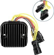 ECCPP Voltage Regulator Rectifier Fit for 2008-2009 Polaris Ranger 500 2008 Polaris Sportsman X2 700 2007-2009 Polaris Sportsman X2 800 4011925 4012384 Rectifier Regulator