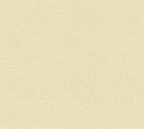 Architects Paper behang Nobile klassiek patroon behang gestructureerd crème metallic, wit, 959811 crème (959822) geel, metallic, goud