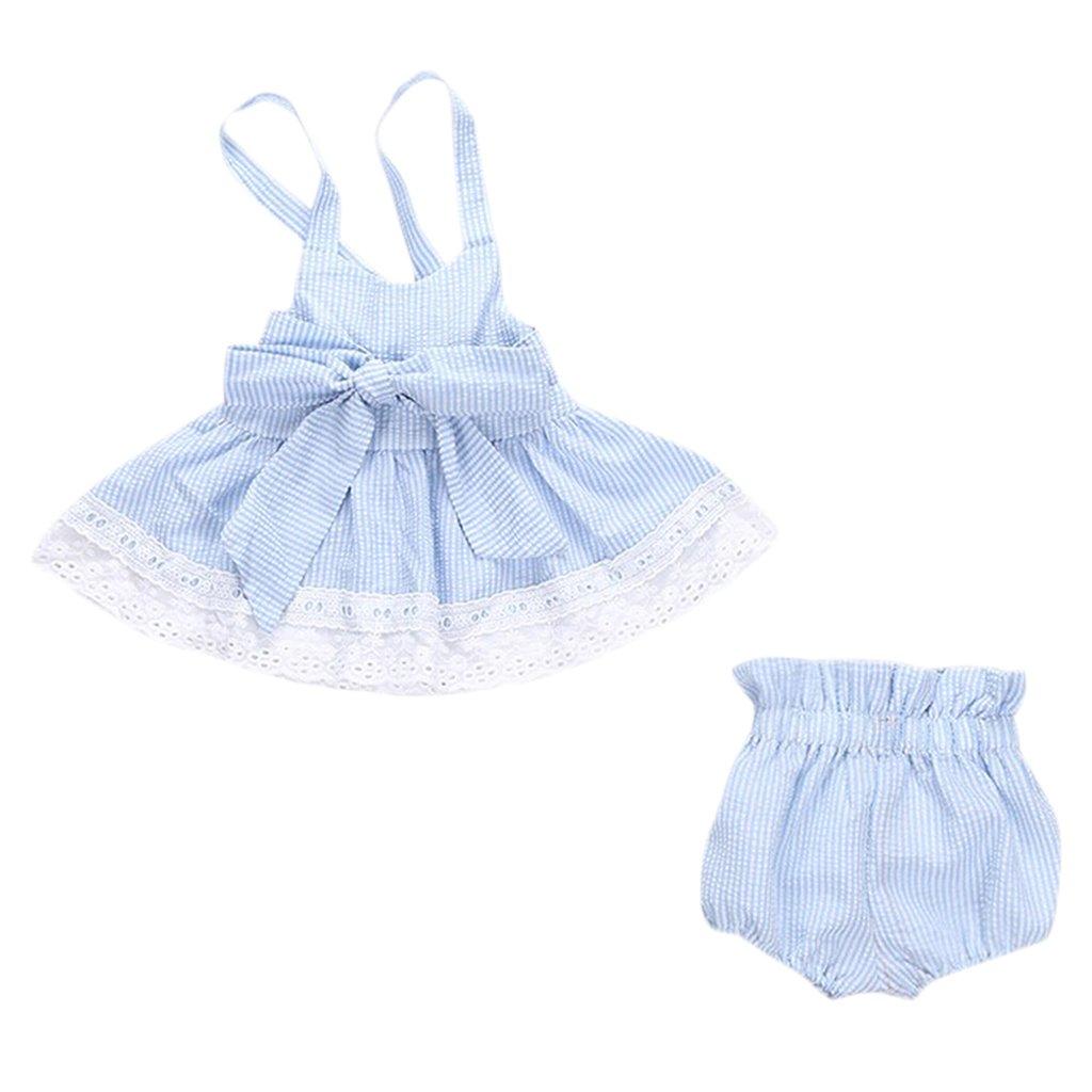 20 20 Months , Blue  MagiDeal Newborn Baby Girl Princess Dress Kid ...