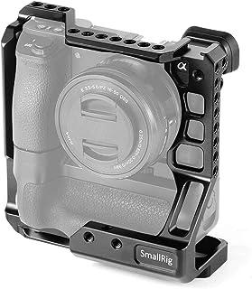 SMALLRIG A6500 Cage Jaula para Sony A6000/A6300/A6500 Compatible con el Agarre de batería Meike MK-A6300 / A6500-2268
