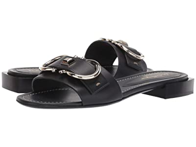 Salvatore Ferragamo Solar Sandal (Nero Mezzo Vitell) Women