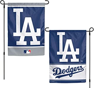 WinCraft MLB Los Angeles Dodgers 12x18 Garden Style 2 Sided Flag, One Size, Team Color