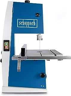 comprar comparacion SCHEPPACH Basa 1, Sierra de Cinta Eléctrica con Guía de Precisión y Fácil Inclinación hasta 45º, 880 rpm y 300W de Potenci...