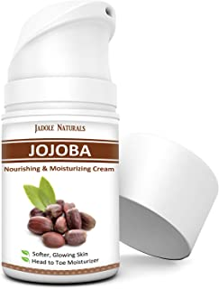 Jadole Naturals Jojoba Moisturizer Cream Lotion Daily Moisturizer For Face and Body