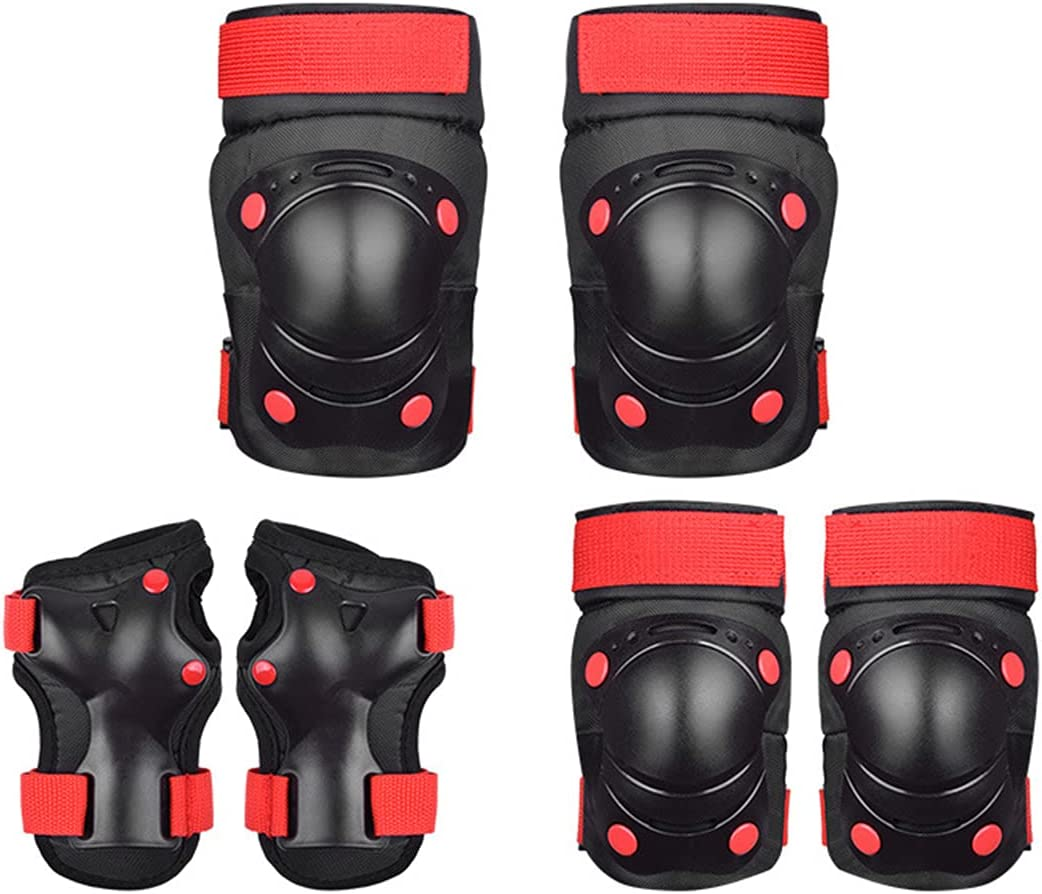 Aon-MX Kids Over item handling Skateboard Knee Pads 6Pcs sold out G Protective Professional