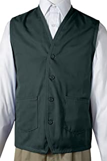Edwards Apron Vest With Waist Pockets, HUNTER, Medium