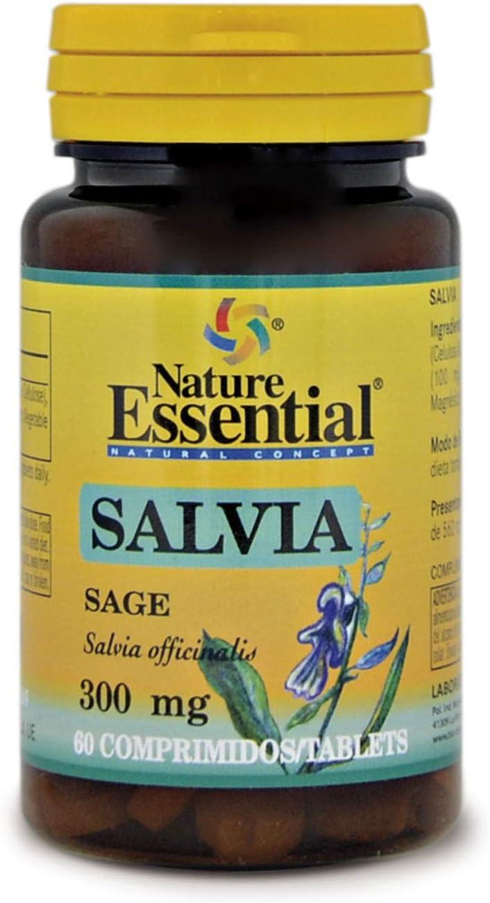NATURE ESSENTIAL | Salvia 300 mg | 60 Comprimidos