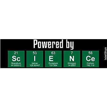 EvolveFISH Science Rules Bumper Sticker 5 x 3.25