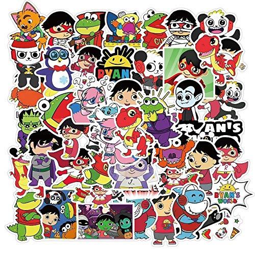 LVLUO Personaje de Dibujos Animados World Graffiti Sticker N
