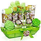 Home Spa Gift Baskets For Women - Bath and Body Gift Basket –...