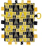 Future Tailgater Appalachian State Mountaineers Baby Sensory Tag Minky Blanket