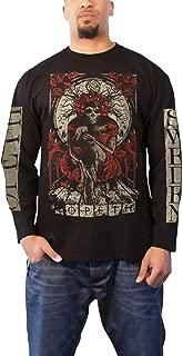 Opeth T Shirt Haxprocess Band Logo Official Mens Black Long Sleeve