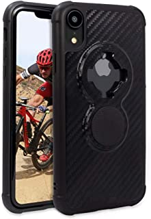 Rokform Crystal [iPhone XR] Slim Magnetic Protective Cases with Twist Lock - CarbonBlack