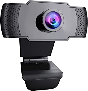 Webカメラ ウェブカメラ マイク内蔵 1080P HD高画質 USBカメラ 30fps 在宅勤務 PCカメラ 手動フォーカス ノイズ低減 Zoom Skype ウェブ会議 ビデオ通信 ビデオカメラ オンライン授業