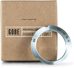 Gobe Lens Mount Adapter: Compatible with M39 Lens and Leica M Camera Body (50-75mm Frame Lines)