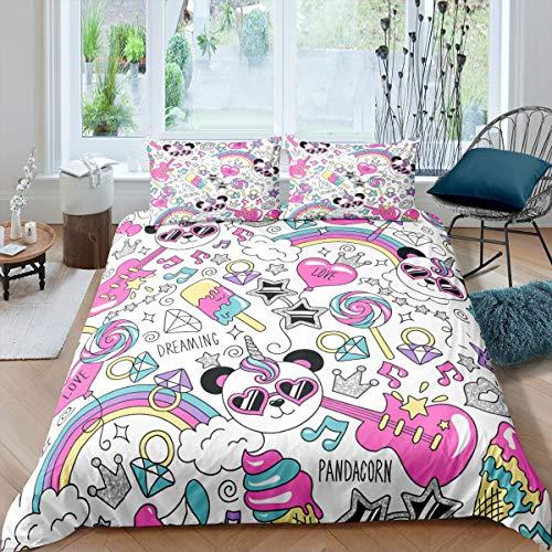 edredón unicornio cama 90 de la marca Manfei
