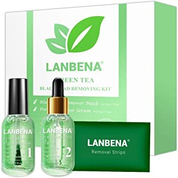 Amazon Com Blackhead Remover Lanbena Blackhead Removing Kit 3