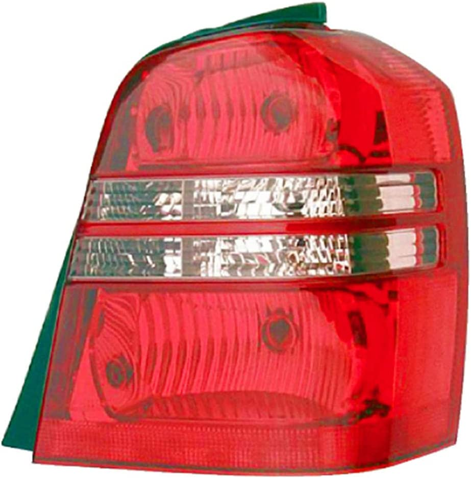 JP Auto Outer Tail Light Toyota Highlander 通販 Compatible 2001 With ストアー