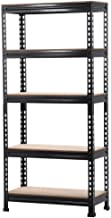 go2buy 5 Tier Storage Rack Heavy Duty Shelf Steel Shelving Unit 27 by 12 by 59.1 Inch