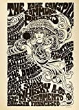 World of Art Global Konzert-Poster, Vintage-Stil, The Doors