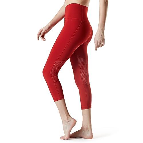 7580c5e7f TSLA Yoga Pants Mid & High-Waist Tummy Control w Hidden Pocket TM-FYC