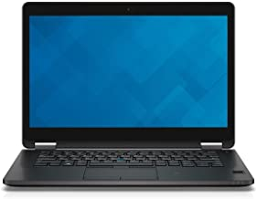 Dell Latitude E7470 - Portátil de 14 pulgadas, Intel Core i5 2.4GHz, 16GB RAM, 256GB SSD, Intel HD Graphics 520, Windows 10 Pro (renovado)