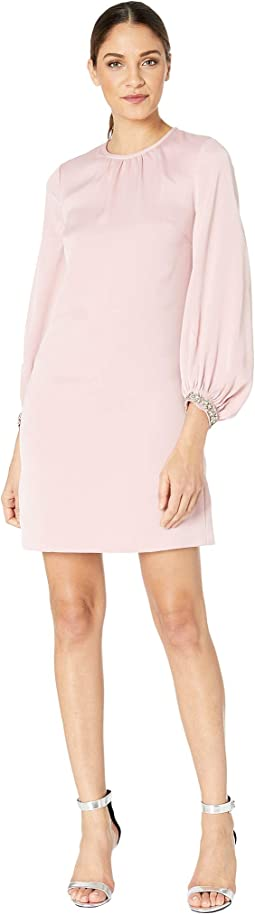Joele Arabesque Crepe Tunic Dress
