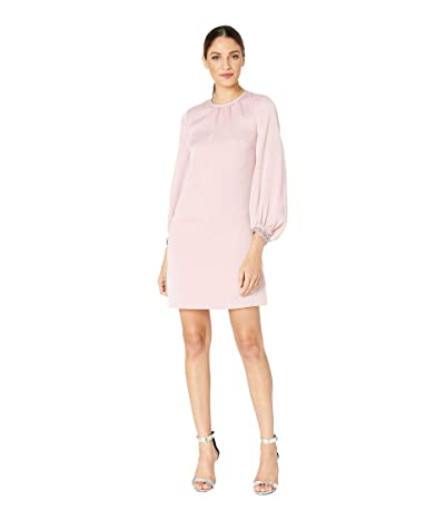 Ted Baker Joele Arabesque Crepe Tunic Dress (Dusty Pink) Women