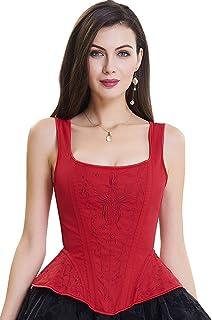 57b413941cb868 Suchergebnis auf Amazon.de für: corsage schnüren - Rot