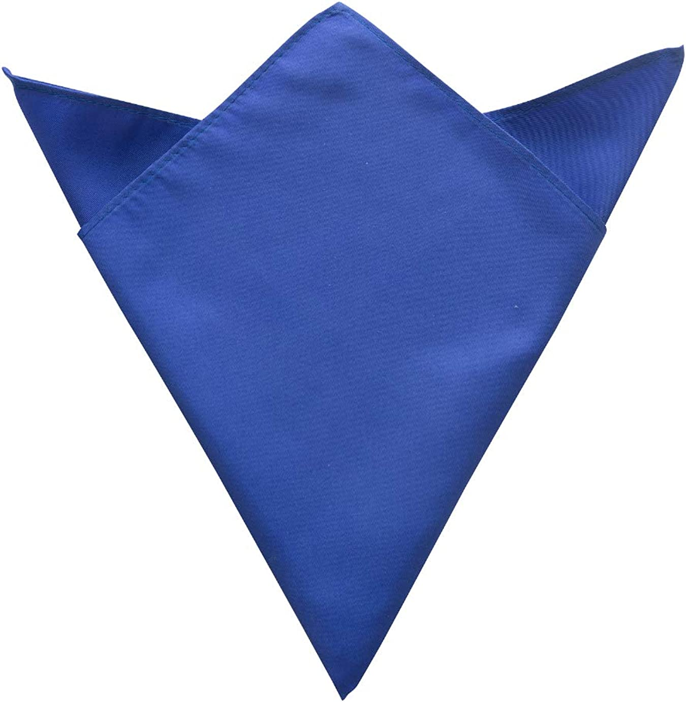 Edwards Solid Pocket Square - Unisex PS01 French Blue