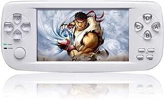 Whatsko ポータブルゲーム機 3000 in 1 16GB 64ビット 4.3インチ デ ュアルコアチップ(ホワイト)