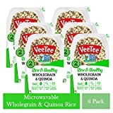 VeeTee Rice & Healthy Wholegrain & Quinoa - Microwavable Instant Rice - 10.6 oz - Pack of 6