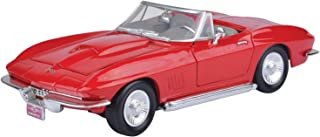 Motormax Corvette Die Cast Model - 3 Years And Above, Red, Red For 3 Years & Above