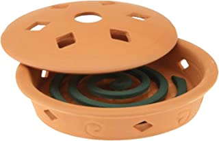 Best terracotta mosquito coil holder Reviews