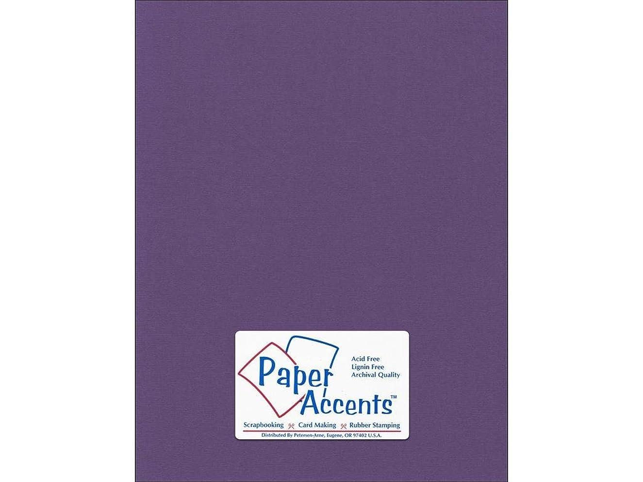 Accent Design Paper Accents Cdstk Canvas 8.5x11 80# Grape Vine