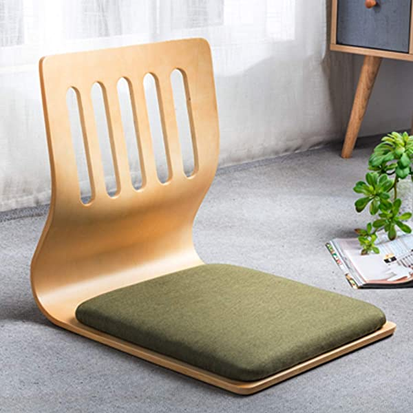 Game Chairs Living Room Chair Japanese Legless Chair Bay Window Backrest Chair Lazy Chair Cushion Floor Chair Lazy Sofa Game Meditation Floor Seating Floor Chairs With Back Support For Adults I