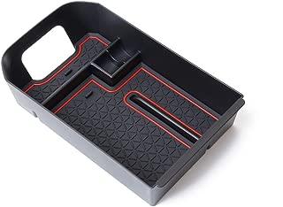 KAFEEK for Toyota RAV4 2019 2020 Center Console Organizer, Armrest Box Secondary Storage, Black Insert Tray