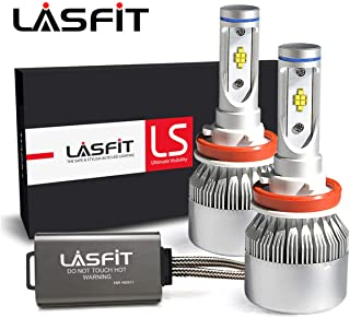 LASFIT LS Series H11/H8/H9/H16 LED Headlight Bulbs-LUMILEDS LUXEON Z ES Chips-90W 10000LM 6000K