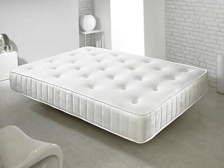 Colchón de espuma viscoelástica y muelles Sleep Factory, 5FT Kingsize (