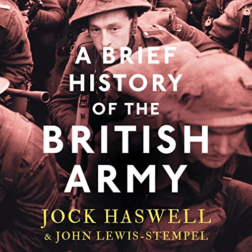 A Brief History of the British Army audiobook cover art