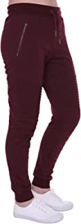 Women's Biker Jogger Pants with Casual Comfortable Slim-fit Made by Cotton Terry Durable and Fexible for Jogger