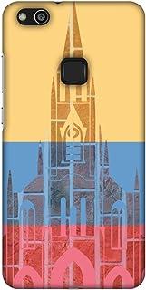 AMZER Slim Fit Handcrafted Designer Printed Snap On Hard Shell Case Back Cover for Huawei P10 Lite - Santiago De Cali- Col...
