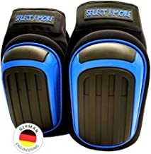 Premium kniebeschermers met gelring + traagschuim voor werk I zelfklevende antisliplaag binnenin I geen vernauwing op de k...