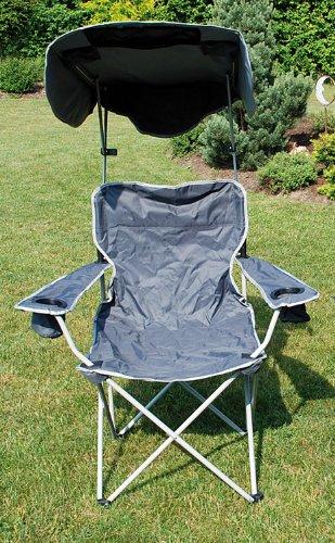 Laminvale Ltd Quik Shade Folding Canopy Chair - Grey