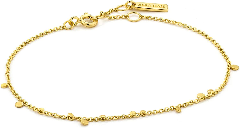 Circle bracelet Minimalist bracelet Layering bracelet Silver bracelet Silver chain bracelet Minimalist jewelry Gift for her