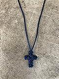 MONK_PRAY_ROPES Komboskini Prayer Rope Chotki Brojanica Rosary Hanmade Cross Necklace