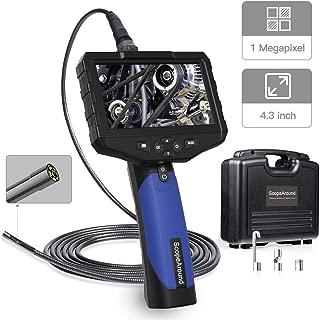 articulating video borescope